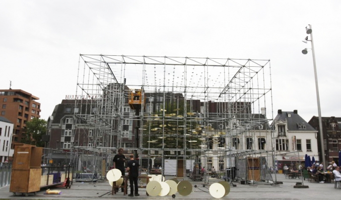 Theaterproject Boom constructie