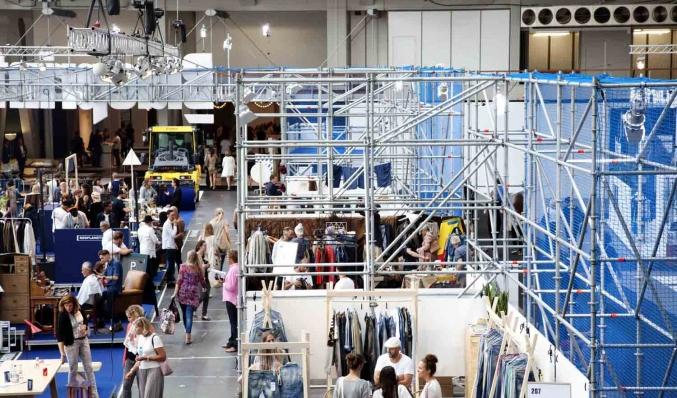 Coreworks fashion event steigerbouw