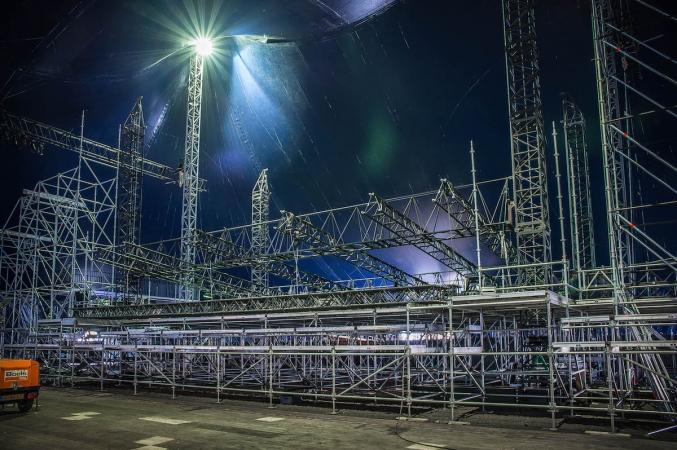 coreworks grond support pre-rig frame