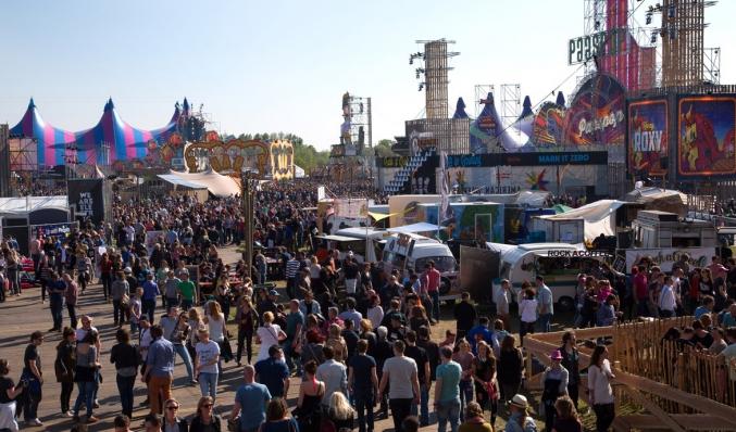 coreworks decorconstructie paaspop festival