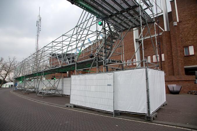 tijdelijke infra olympisch stadion