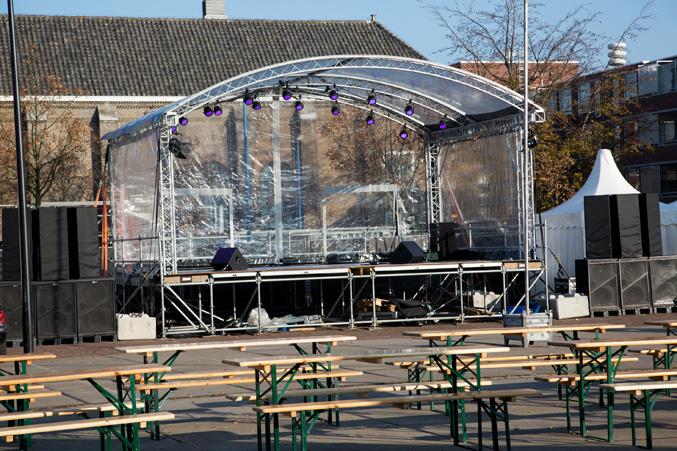 coreworks event overdekt podium transparant