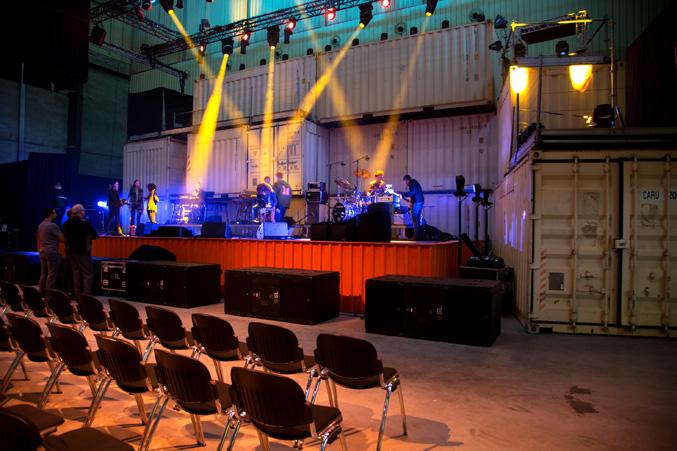 Coreworks podiumbouw jubileum