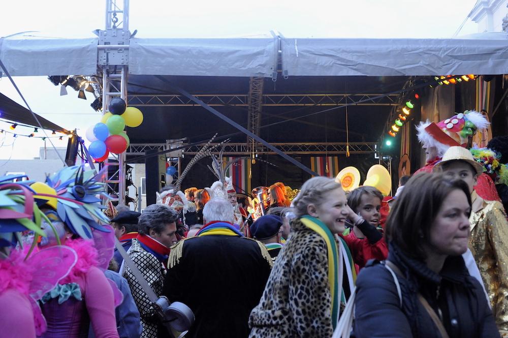 podium huren carnaval