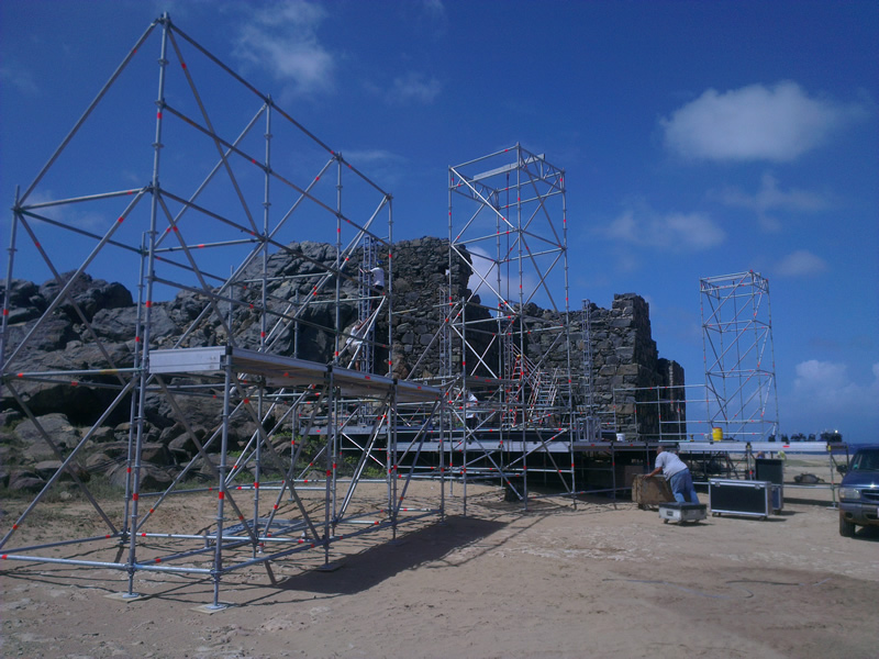 Koningshuis eventconstructie