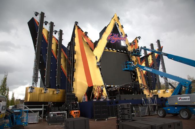 coreworks festival opbouw