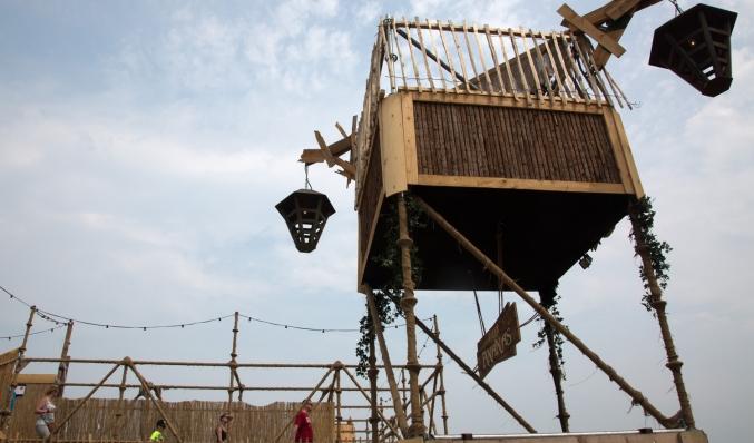 coreworks festival torenconstructie