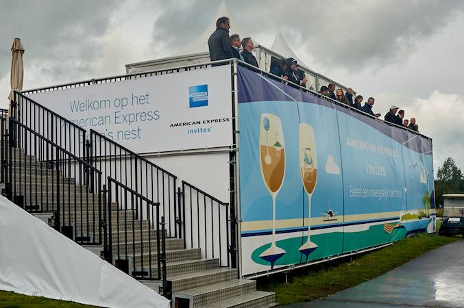 KLM Open V.I.P.-deck