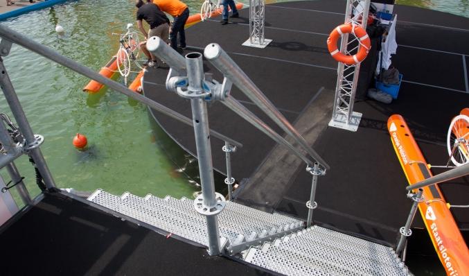 coreworks nk waterfietsen 2015 trapconstructie