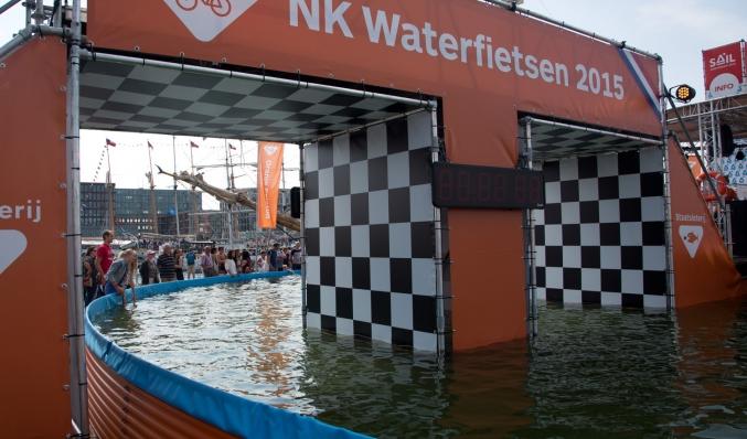 coreworks nk waterfietsen brugconstructie
