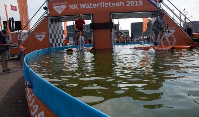 coreworks publieksbrug voor nk waterfietsen