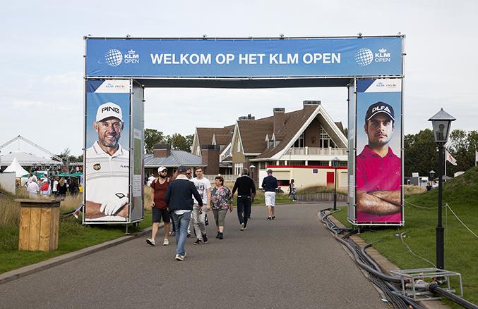 entreepoort KLM Open 2018