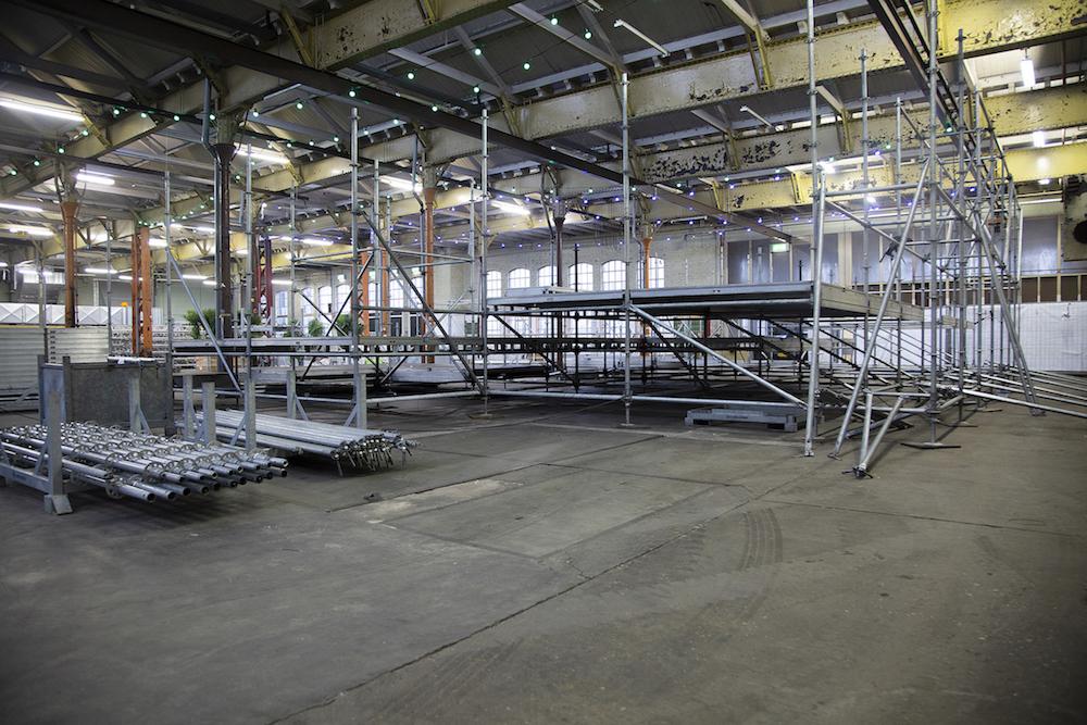 coreworks podiumbouw en steigerconstructies
