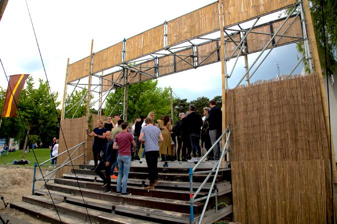 event constructie lakedance