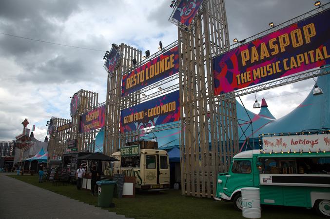 festival afwerking