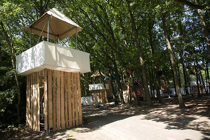 festival constructie torentje