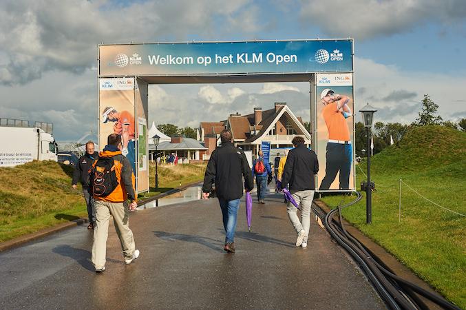 KLM Open entree