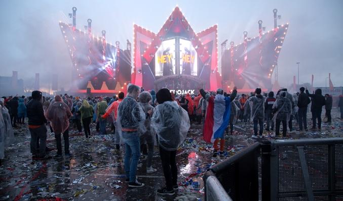 koningsdag festival regen