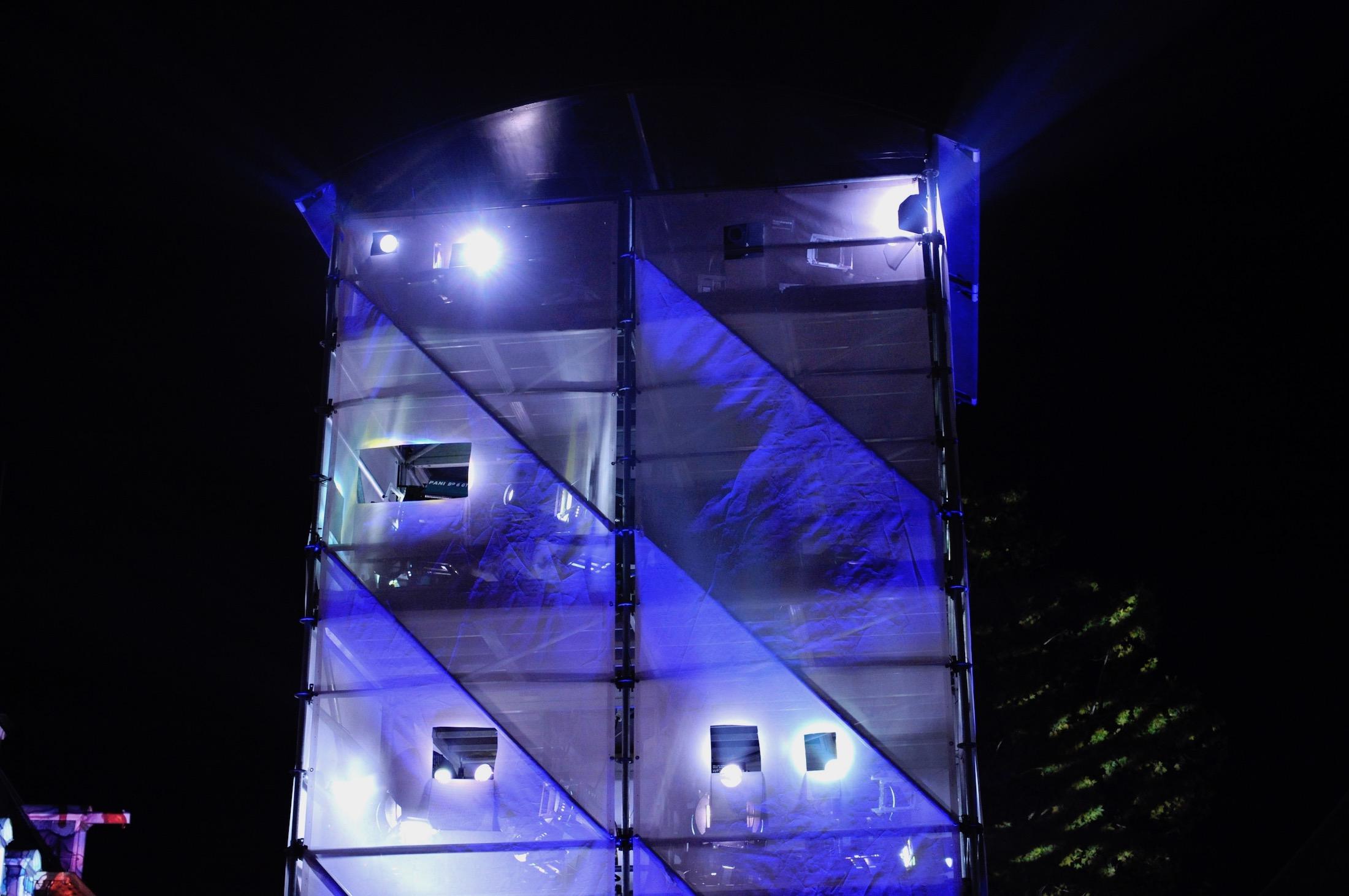layher toren voor GLOW eindhoven