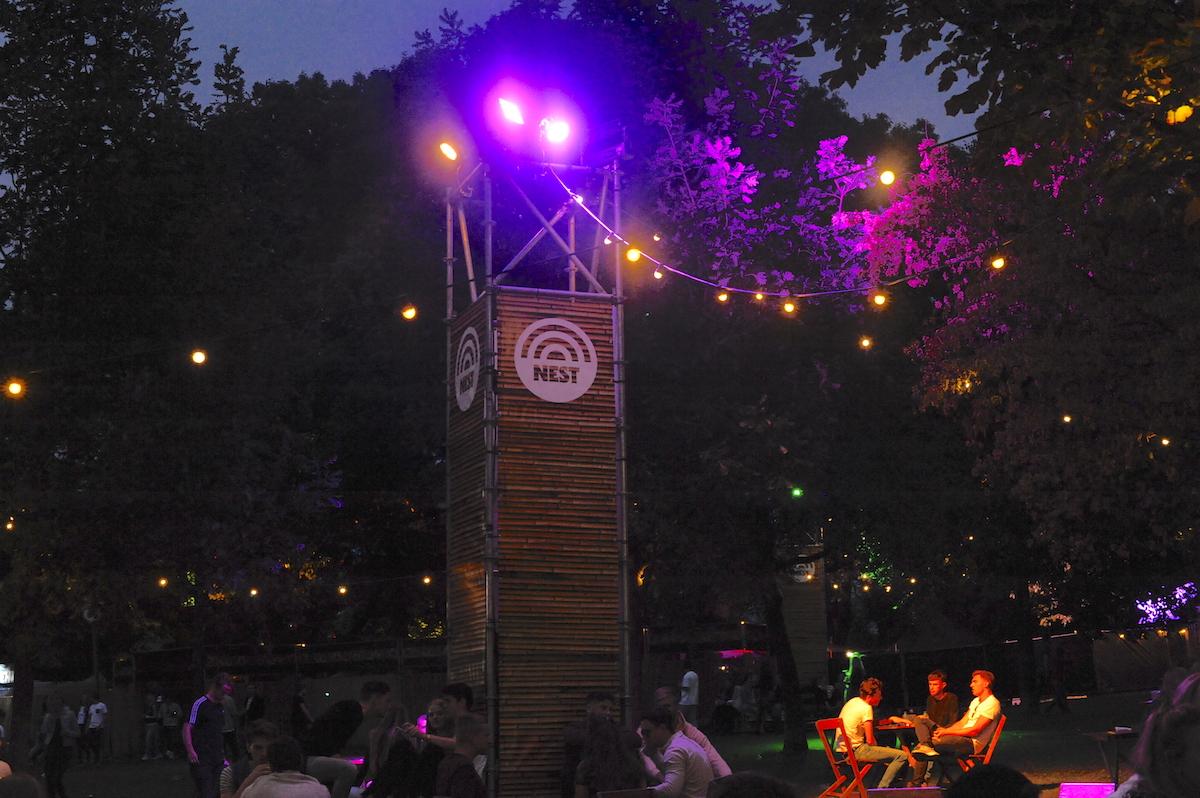 festival lichttoren