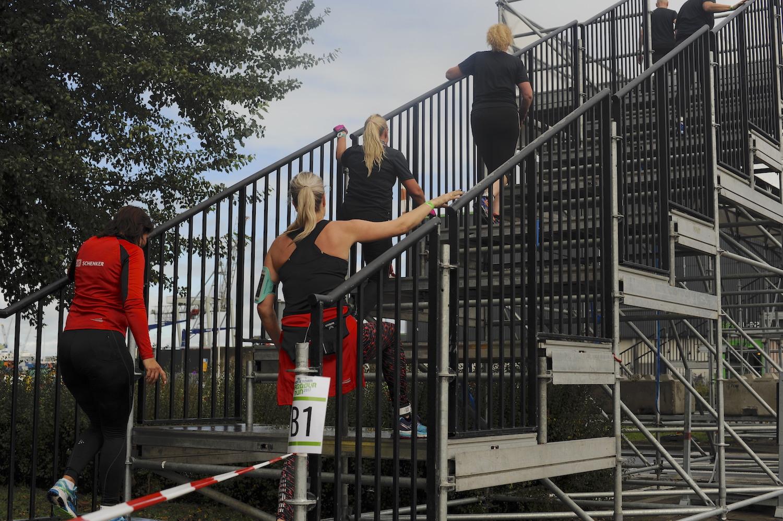 trapconstructie sport-evenement