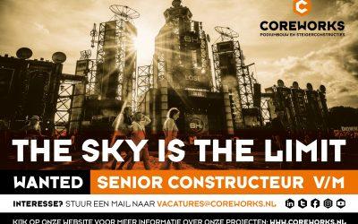 WANTED: SR. CONSTRUCTEUR v/m